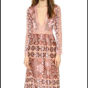 For love and lemons Barcelona maxi dress